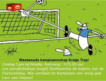 Kampioenschap Kratje Trap!!!