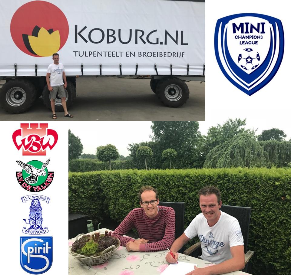 Koburg B.V. wordt nieuwe hoofdsponsor Minipupillen Champions League