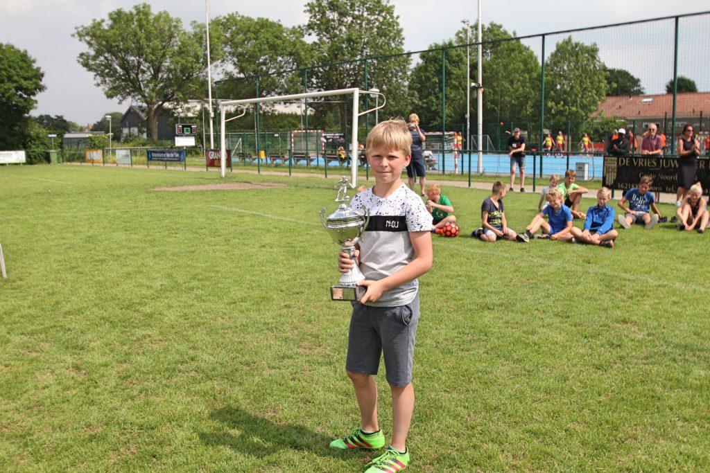 Thijmen Huisman kampioen van de Penaltybokaal